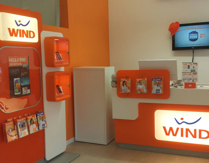 Software gestionale franchising Wind Treviso